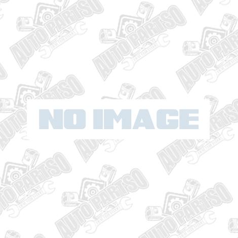 ALL SALES MANUFACTURING 99-06 SIERRA GMC FRONT/REAR EMBLEM COMBO - BLACK POWDERCOAT (96510K)